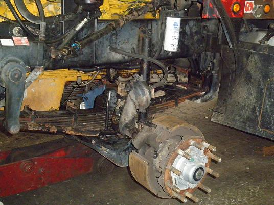 Dump Truck Suspension Parts Sales and Installation