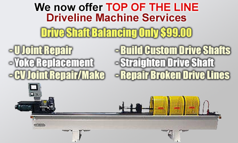 Driveline Machine Services
